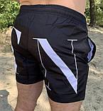 Плавальні шорти Valentino 20184 чорні, фото 4