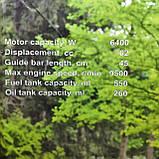 Бензопила Техпром ТБП-6400 + Станок для заточки цепей бензопил БЗЦ-1200, фото 10