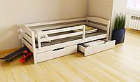 """Кровать детская подростковая деревянная """"Хюго"""" 80*190/200 размер массив бук, фото 1"""