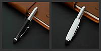 Шариковая ручка + светодиодный фонарик + Стилус для Iphone / Ipad 3-в-1