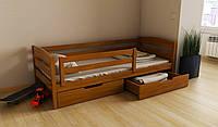 """Кровать детская подростковая деревянная """"Хюго"""" 90*190/200 размер массив бук"""