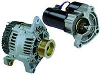 Генератор двигателя реставрированный на автомобиль - заменить, установить