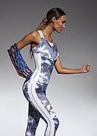 Спортивный женский топ BasBlack Code-top 50 (original), майка для бега, фитнеса, спортзала