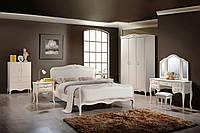 """Кровать  """"Богемия"""" 1,6х 2,0 (античный белый). Спальня Богемия"""