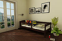 """КРОВАТЬ ДЕТСКАЯ (ПОДРОСТКОВАЯ) """"Мартель"""" 80*190 размеры дерево массив бук , детская кровать купить Украина, фото 1"""
