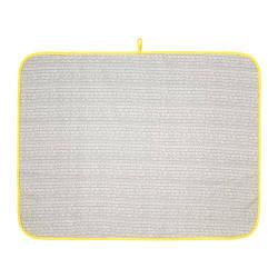 ИКЕА (IKEA) KLÄMMIG, 803.730.86, Пеленальная подстилка, серый, желтый, 90x70 см