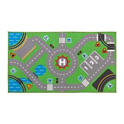 ИКЕА (IKEA) СТОРАБУ, 703.568.22, Ковер, зеленый, 75x133 см