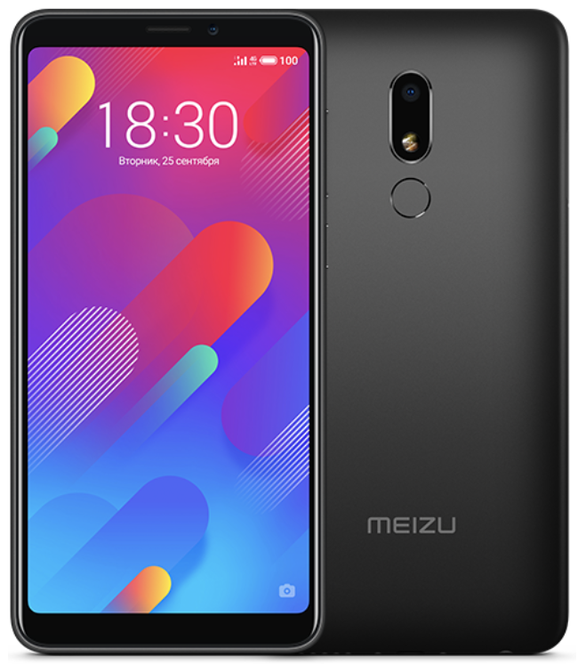 "Meizu M8 Lite Black 3/32 Gb, 5.7"", MT6739, 3G, 4G (Global)"