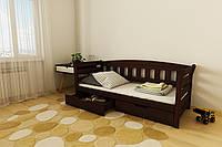 """Детская кровать """"Тедди"""" 90*190/200 размеры дерево массив бук, фото 1"""