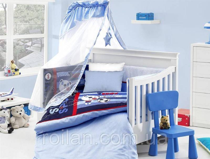 Дитяче постільна в ліжечко для немовлят First Choice