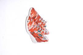 Кроссовки женские Geox цвет оранжевый размер 37 арт D621CF0AW54C7VN6