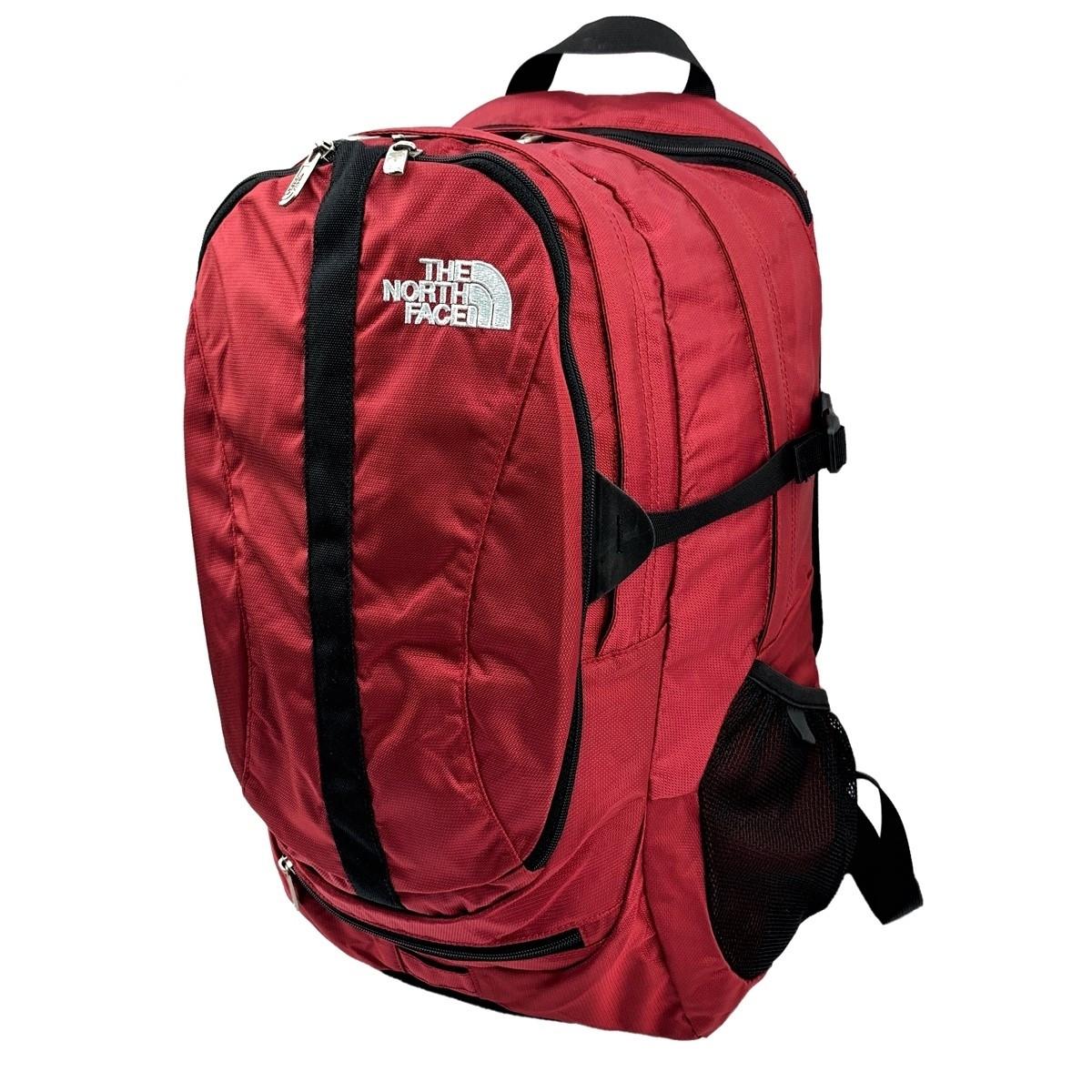 Женский городской рюкзак The North Face Melinda 30L бордового цвета