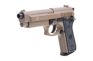 Replika sprężynowa pistoletu TAURUS PT92 - tan [CyberGun], фото 2
