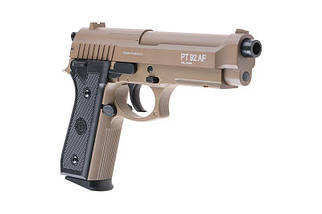 Replika sprężynowa pistoletu TAURUS PT92 - tan [CyberGun], фото 3