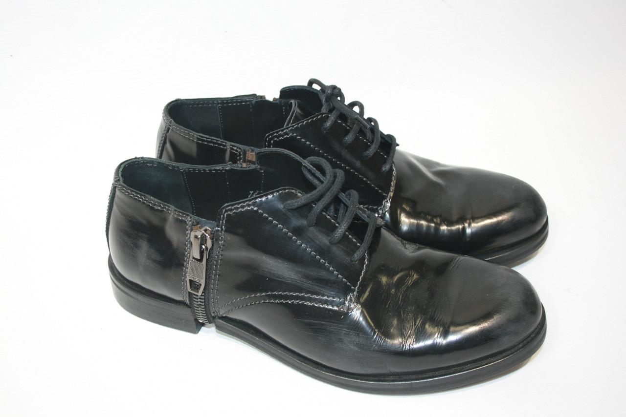 Туфли мужские Diesel цвет черный размер 40 арт Y01439PR425T8013