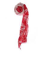 Шарф женский TOM TAILOR цвет красно-белый размер OS арт 0221508.00.70