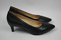 Туфли женские Geox цвет черный размер 37,5 арт D747DD00004C9999