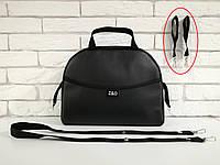 Сумка на коляску универсальная Z&D New Еко кожа (Черный жемчуг), фото 1