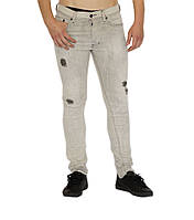 Джинсы мужские DIESEL цвет бледно-серый размер 28/30 арт 00CKRH0676M