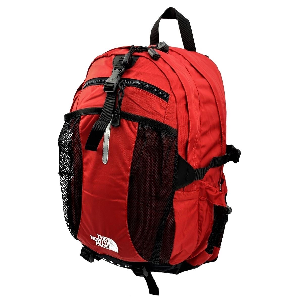 Городской рюкзак The North Face Recon 33L красного цвета с отделением для ноутбука