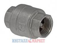 Обратный клапан никелированный 1/2 ВВ