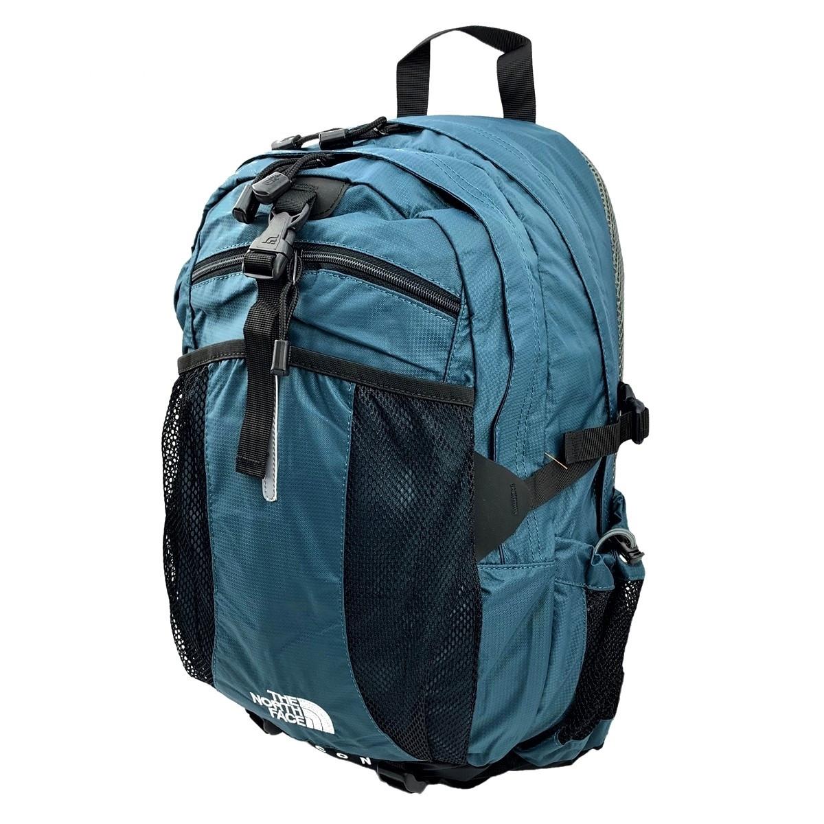 Городской рюкзак The North Face Recon 33L тёмно-голубого цвета с отделением для ноутбука