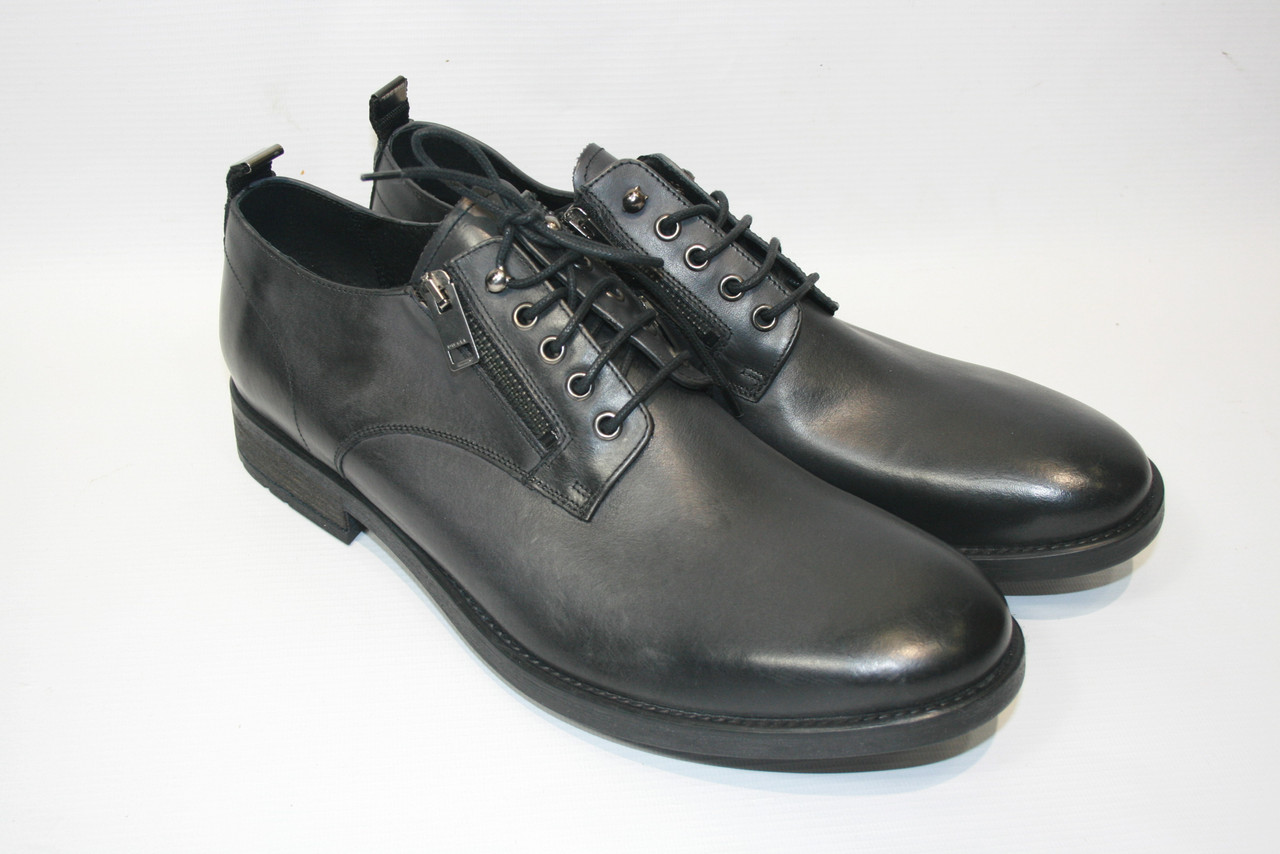 Туфли мужские Diesel цвет черный размер 46 арт Y01270PR080T8013, фото 1
