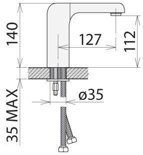 Смеситель для раковины Welle Stefan MC16196D, фото 2