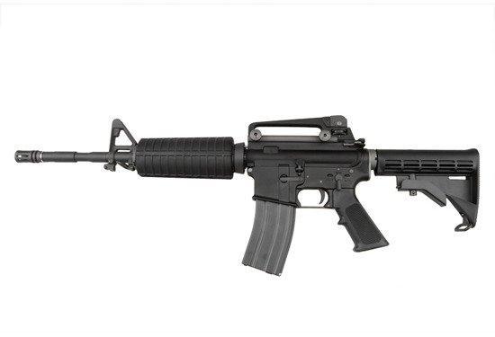 Replika karabinka szturmowego WE M4A1 Open Bolt - CZARNA [WE]