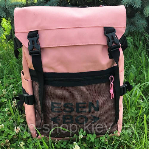 Городской и школьный рюкзак ESENBO розовый