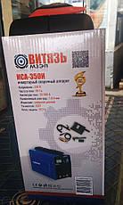 Сварочный инвертор ВИТЯЗЬ ИСА-350И с таблом в кейсе, фото 3