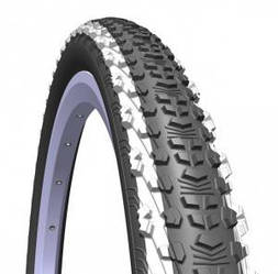 """Велосипедні покришки """"Rubena"""" 24"""" V75 SCYLLA Classic 24""""x1,90 (50x507) білі смуги по боках"""