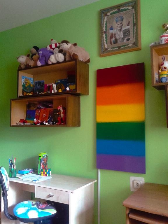 Детская комната г. Львов, ул. Мишуги