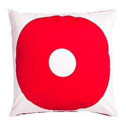 ИКЕА (IKEA) SIPPRUTA, 904.371.39, Чехол на подушку, красный, 50x50 см