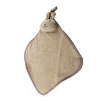Детское полотенце зайчик, полотенечко для рук и лица