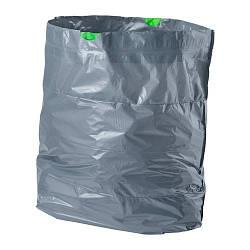 ИКЕА (IKEA) ФОРСЛУТАС, 302.575.41, Мешок для мусора, серый, 21 л