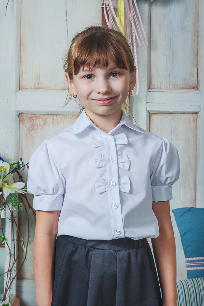 Школьные блузка для девочки