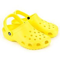 Кроксы женские - купить кроксы дешево Украина 62040-126bright-yellow