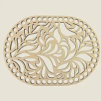 Овальное донышко для вязанных корзин Shasheltoys (100208.20) 200х270 мм