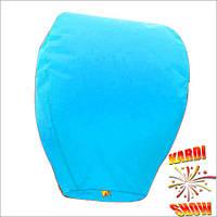 Небесный фонарик голубой купол