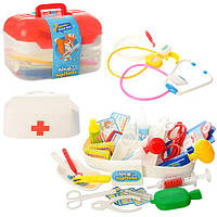 Детский набор  доктора детский M 0460 U/R  34 предмета, LimoToy