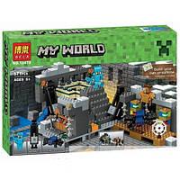 """Конструктор Bela 10470 (Аналог LegoMinecraft 21124) """"Портал в край"""" 571 деталь, фото 1"""