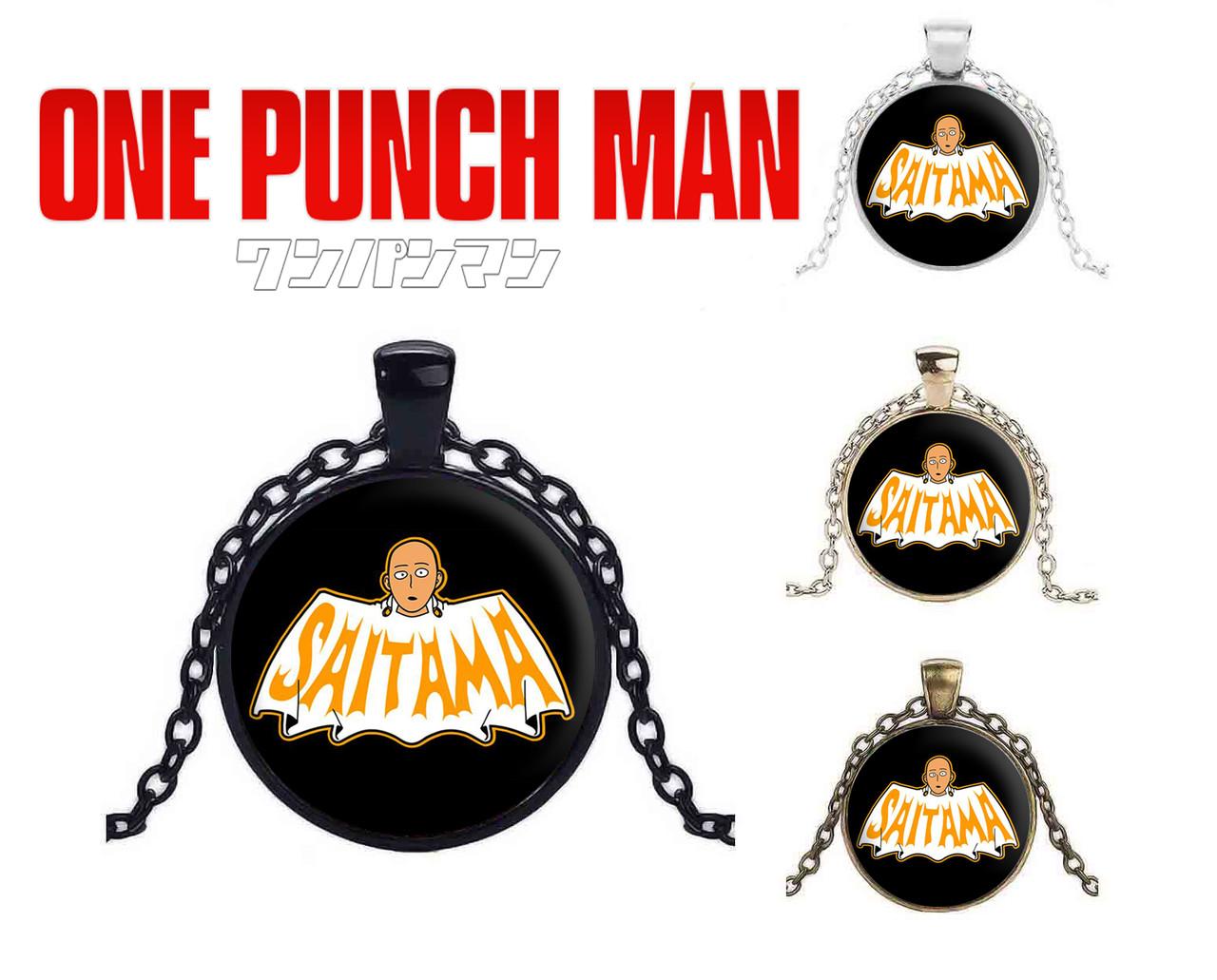 Кулон One Punch-Man Сайтама кроссовер с Бэтмэном