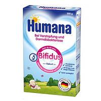 Смесь Bifidus с пребиотиком лактулозой Humana 300г