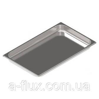 Гастроёмкость  перфорированная нержавеющая сталь без ручек GN 1/1 h-40 мм Brillis