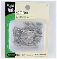 Шпильки Dritz T-pins