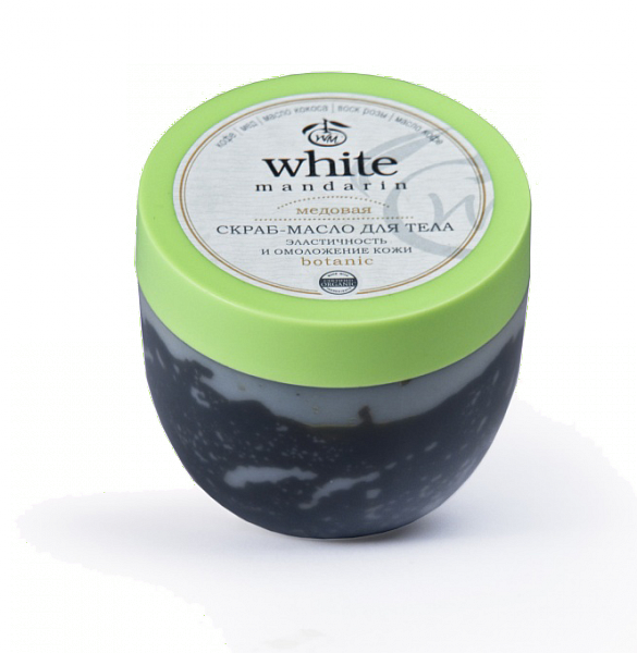 White Mandarin Скраб-масло для тіла серії «Медова», 300 мл, фото 1