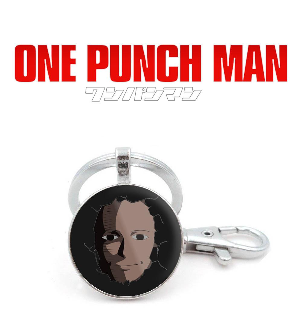 Брелок One Punch-Man с лицом