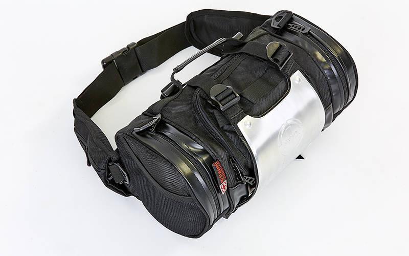 Моторюкзак-пояс с металлической защитной накладкой AO SI MAN NI T9909