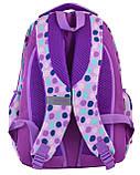 Рюкзак школьный SG-25 Violet spots 557079 Smart, фото 3